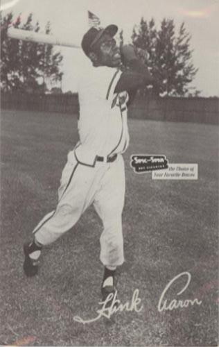 1954 Hank Aaron Spic and Span Postcard