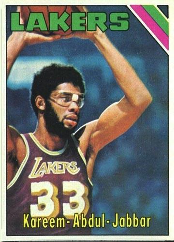 1977 Topps Kareem Abdul-Jabbar #90