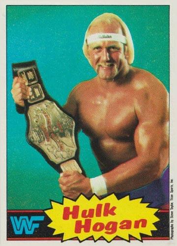 1985 Topps Pro Wrestling Stars Hulk Hogan #16