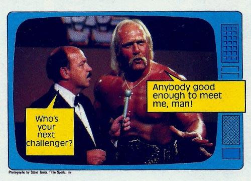 1985 Topps Pro Wrestling Stars #57
