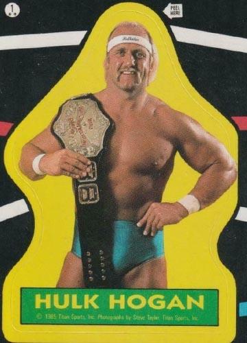 1985 Topps Pro Wrestling Stars Sticker #1