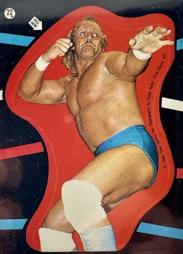 1985 Topps Pro Wrestling Stars Sticker #22
