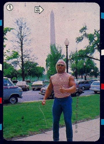 1985 Topps Pro Wrestling Stars Sticker #9