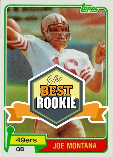 1981 Topps - The Best Joe Montana Rookie