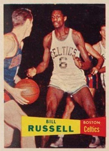 1957 Bill Russell Topps Rookie Front