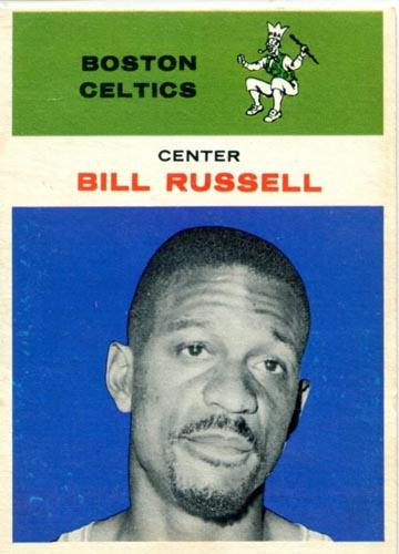1961-62 Bill Russell Fleer #38