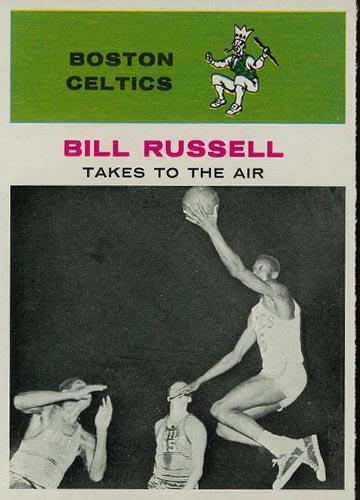 1961-62 Bill Russell Fleer #62