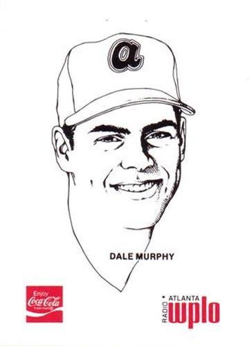 1978 Dale Murphy Coca-Cola Front