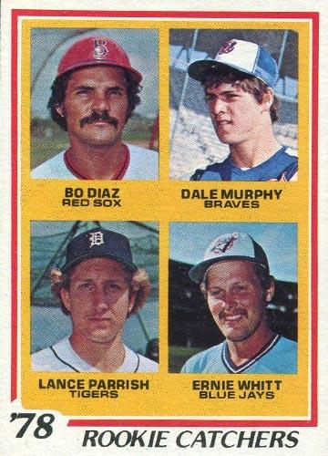1978 Topps Dale Murphy Rookie Catchers