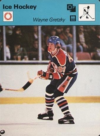 1977-79 Wayne Gretzky Sportscaster - Front