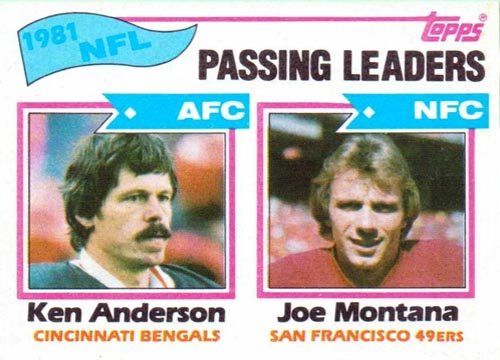 1982 Topps Passing Leaders #257