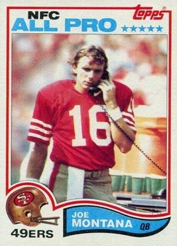 1982 Joe Montana Topps #488