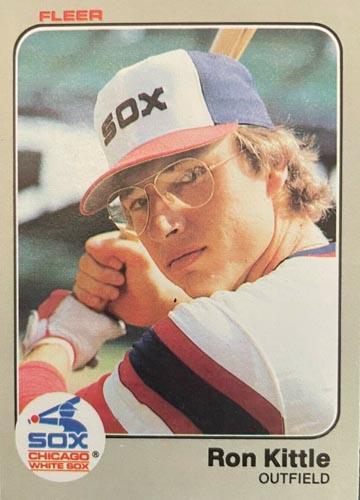 1983 Fleer Ron Kittle rookie card