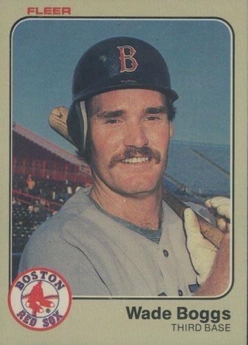 1983 Fleer Wade Boggs Rookie